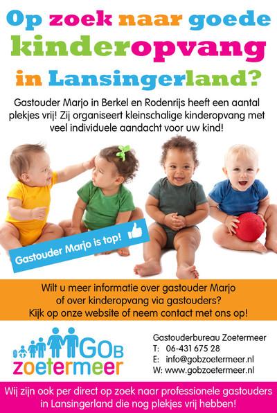 3B Krant - 24 juni 2015 Advertentie gastouder Marjo in Berkel en Rodenrijs