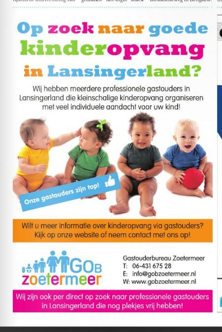 GOB Zoetermeer in de Media